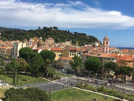 Nice, France, Côte D'azur, Landscape, Architecture