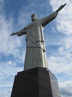 Rio, Statue, Jesus, Brazil, Landmark, Christ, Travel