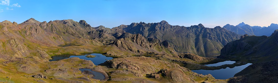 Kaçkars, Seven Lakes, Turkey, Black Sea, Mountain, Blue