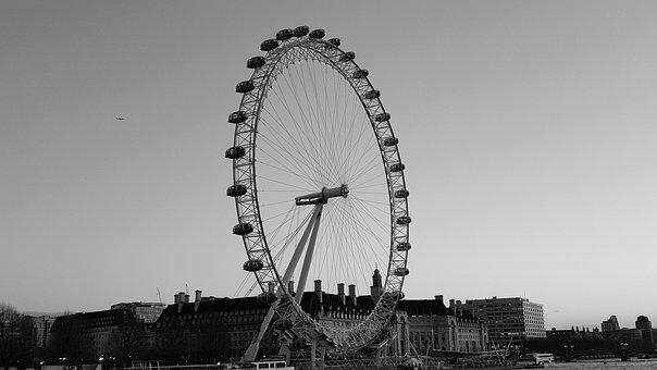 London, Eye Of London, London Eye, London Ferris Wheel