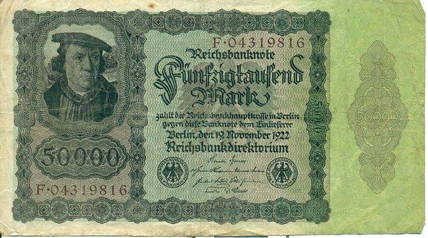 Money, Inflation, Paper Money, Bills, Dollar Bill, Pay