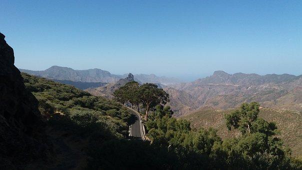 Mountain, Landscape, Nature, Natura