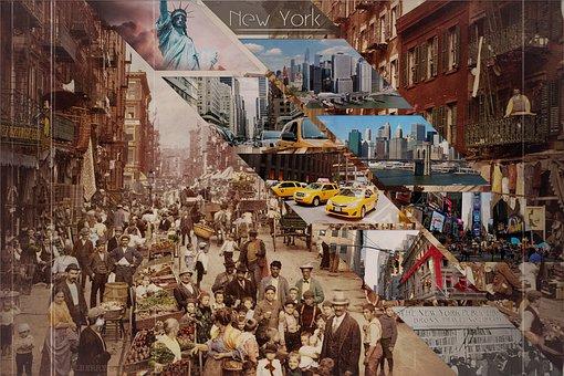 Photo Montage, New York, America, Ny, Fantasy, Surreal