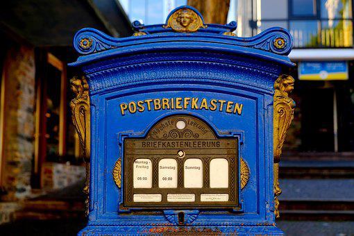 Mailbox, Old, Post, Post Mail Box, Nostalgic, Nostalgia
