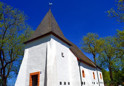 Chapel, Church, Small Church, Eifel, Wayside Chapel
