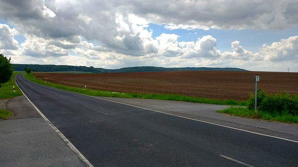 Road, Transportweg, Nature, Landscape, Spotlight