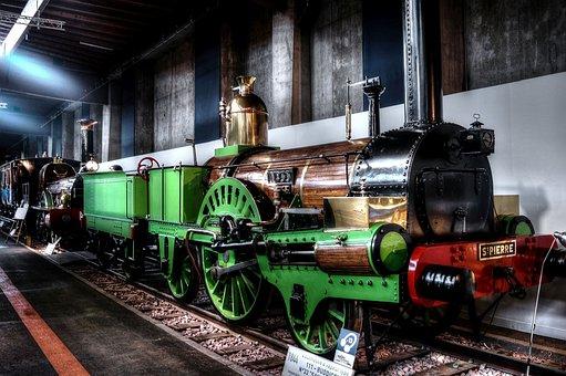 Locomotive, Steam Locomotive, St Pierre, 1844, Type 111