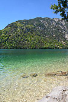 Achensee, Clear Water, Mountains, Tyrol, Nature, Water