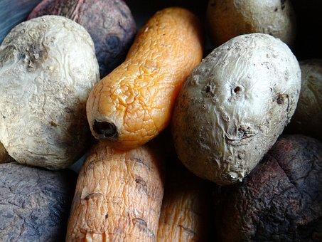 Potatoes, Carrot, Beet, Boiled, Vinaigrette, Vegetables