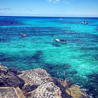 Lanzarote, Coast, Sea, Spain, Ocean, Nature, Water