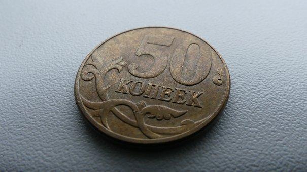 Kopek, Ruble, Money, Salary, Coins, Russian, Penny