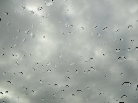 Sky, Raindrop, Rain, Nature, Drip, Clouds, Wet, Water