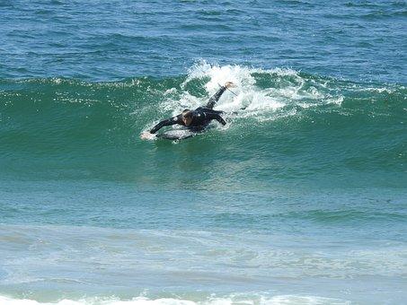 Surfer, Ocean, Wave, Surfing, Surfboard, Fitness