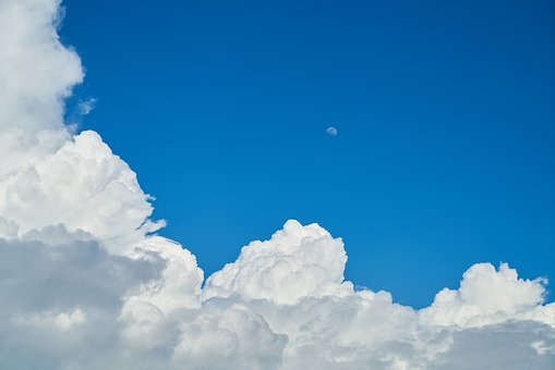Cloud, Blue, Background, Clouds, White, Composition