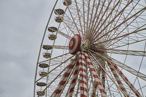 Manege, Ferris Wheel, Height, Attraction, Wheel, Fair