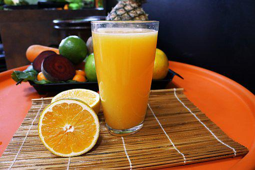Fruit, Orange, Fruit Juice, Fresh, Glass, Healthy
