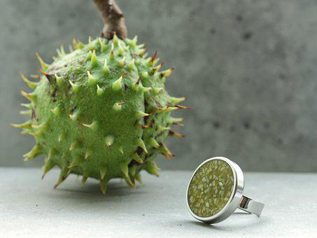 Fashion, Ring, Design, Jewelry, Luxury, Green, Cement