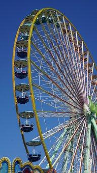 Ferris Wheel, Fair, Folk Festival, Oktoberfest