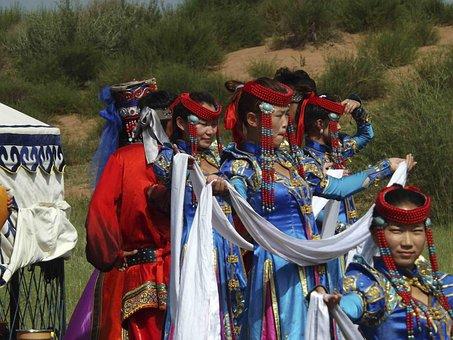 Inner Mongolia, Prairie, Dance