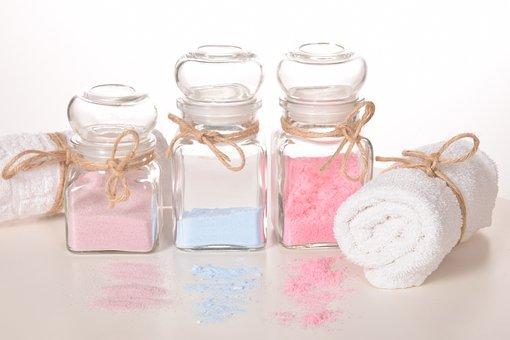 Salt, Bath, Natural