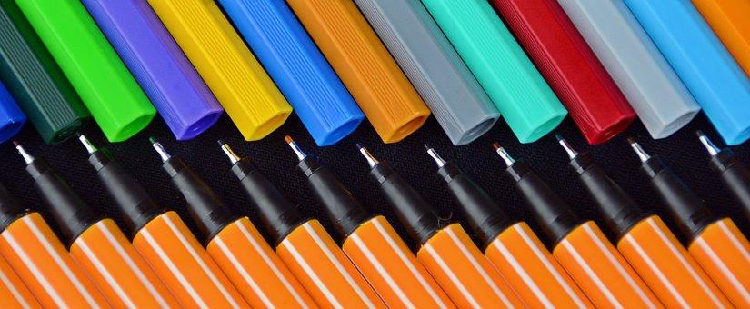 Pens, Stabilo, Color, Macro, Colour Pencils