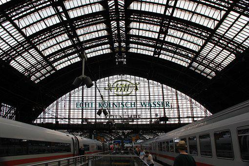 Railway Station, Cologne, Station Roof, Central Station