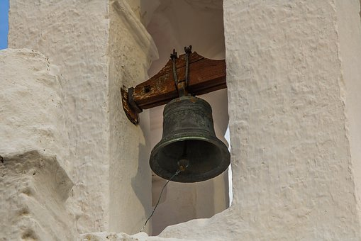 Bell, Tower, Church, Ancient, Portugal