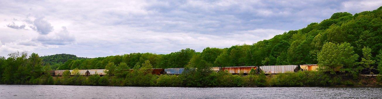 Freight Train, Freight, Train, Transportation, Cargo