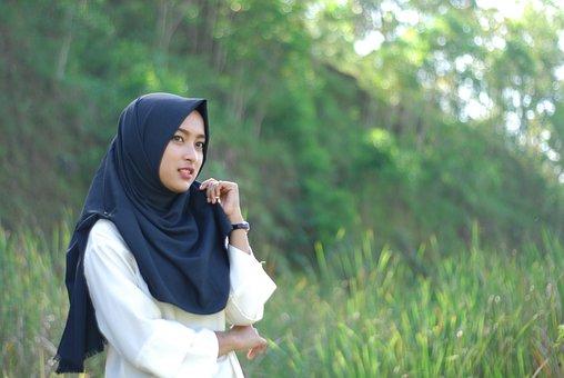 Hijab, Indonesia, Religion, Islam, Muslim, Nature