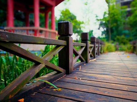 Park, Bridge, Pavilion