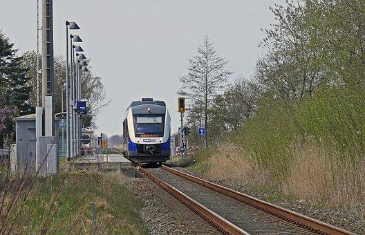 Branch Line, Breakpoint, Platform, Single-track, Rural