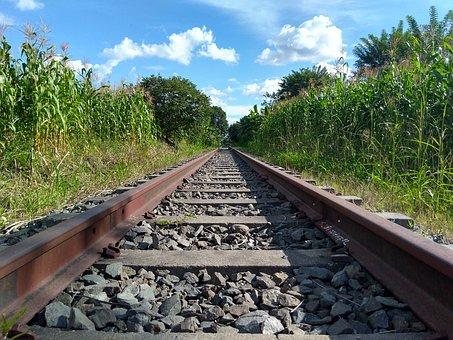 Train, Rails, Railway, Rail, Trains, Background