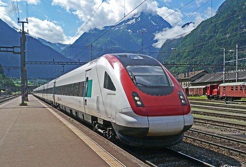 Switzerland, Alpine Ice, Transalpin, Gotthard