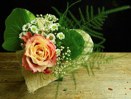 Heart, Rose, Love, Flower, Blossom, Bloom