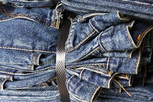 Jeans, Denim, Fabric, Garment, Fashion, Blue, Textile