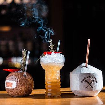 Coconut, Rum, Fiji, Ginger Beer, Chilli