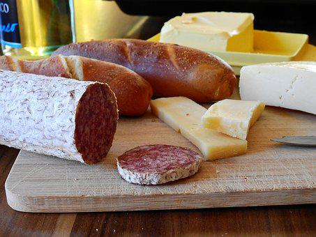 Vespers, Eat, Food, Dine, Sausage, Salami, Meat, Cheese