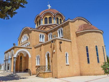 Cyprus, Frenaros, Archangelos Michael, Church, Orthodox