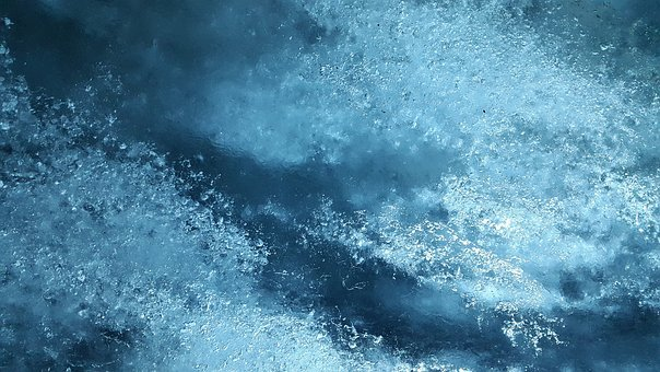 Ice, Glacier, Frozen, Cold, Glacial Ice, Air Inclusions