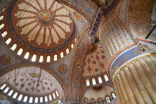 Islam, Mosque, Blue Mosque, Istanbul, Architecture