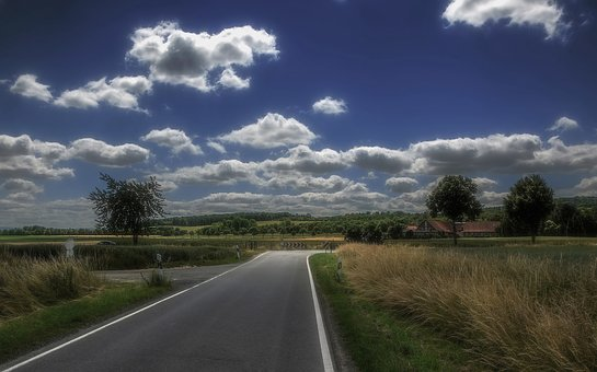Landscape, Countryside, Country Road, Country, Sky