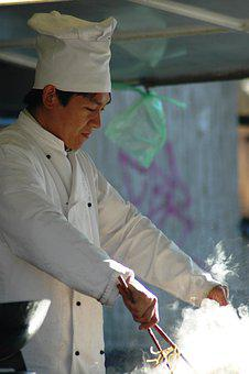 Chef, Food, Chinese Noodles, Outdoors