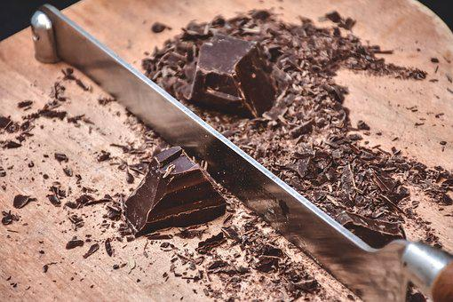 Chocolate, Scales, Knife, Kitchen, Blade, Tools, Eat