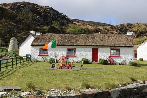 Ireland, Cottage, Architecture, Rustic, Irish