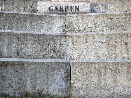 Stairs, Stone Stairway, Stone, Concrete, Garden
