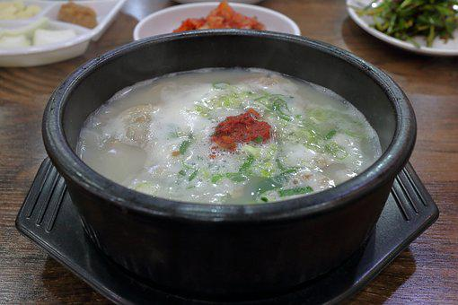 Pork Soup, Order Great, Haejangguk, Pot, Dinner