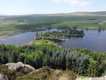 North Third Cliffs, North Third Reservoir, Scotland