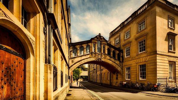 Oxford, England, Great Britain, City, Urban, Cityscape