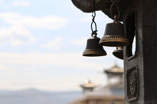 Ulaanbaatar, Bells, Temple, Buddhism, Architecture