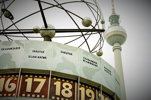Berlin, Alexanderplatz, Germany, Tower, Travel